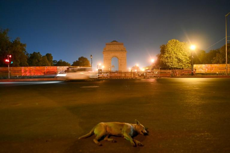 The Indian capital has imposed a night curfew