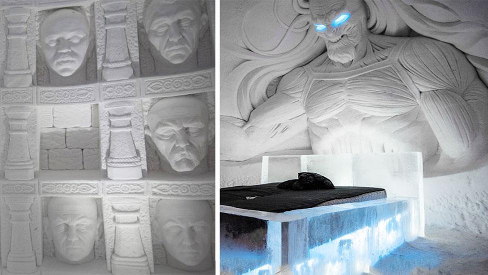 <p>You can now stay at a Game of Thrones ice hotel</p>