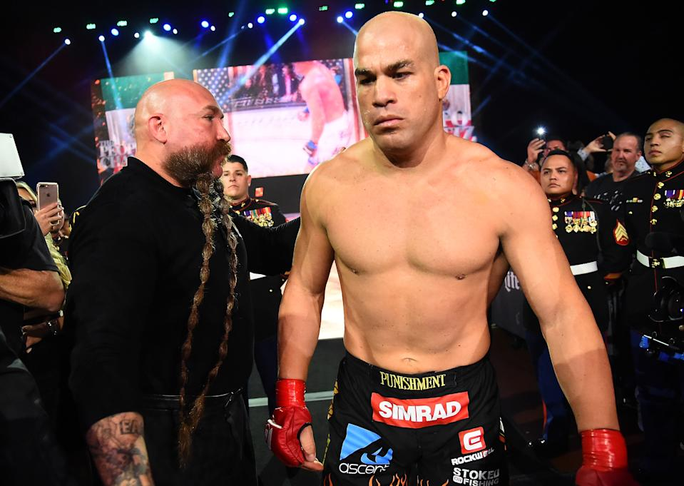 Officials had stripped Tito Ortiz of a victory after he tested positive for a substance on the day of a fight. (Photo by Jayne Kamin-Oncea/Getty Images)