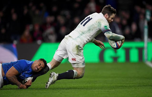 Rugby Union - Autumn Internationals - England vs Samoa - Twickenham Stadium, London, Britain - November 25, 2017 England's Elliot Daly in action REUTERS/Toby Melville TPX IMAGES OF THE DAY