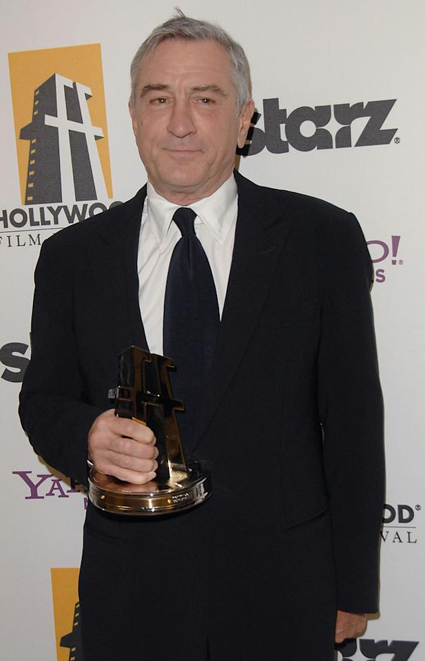 """<a href=""""http://movies.yahoo.com/movie/contributor/1800010759"""">Robert DeNiro</a> at the 13th Annual Hollywood Awards Gala held at the Beverly Hilton Hotel - 10/26/2009"""