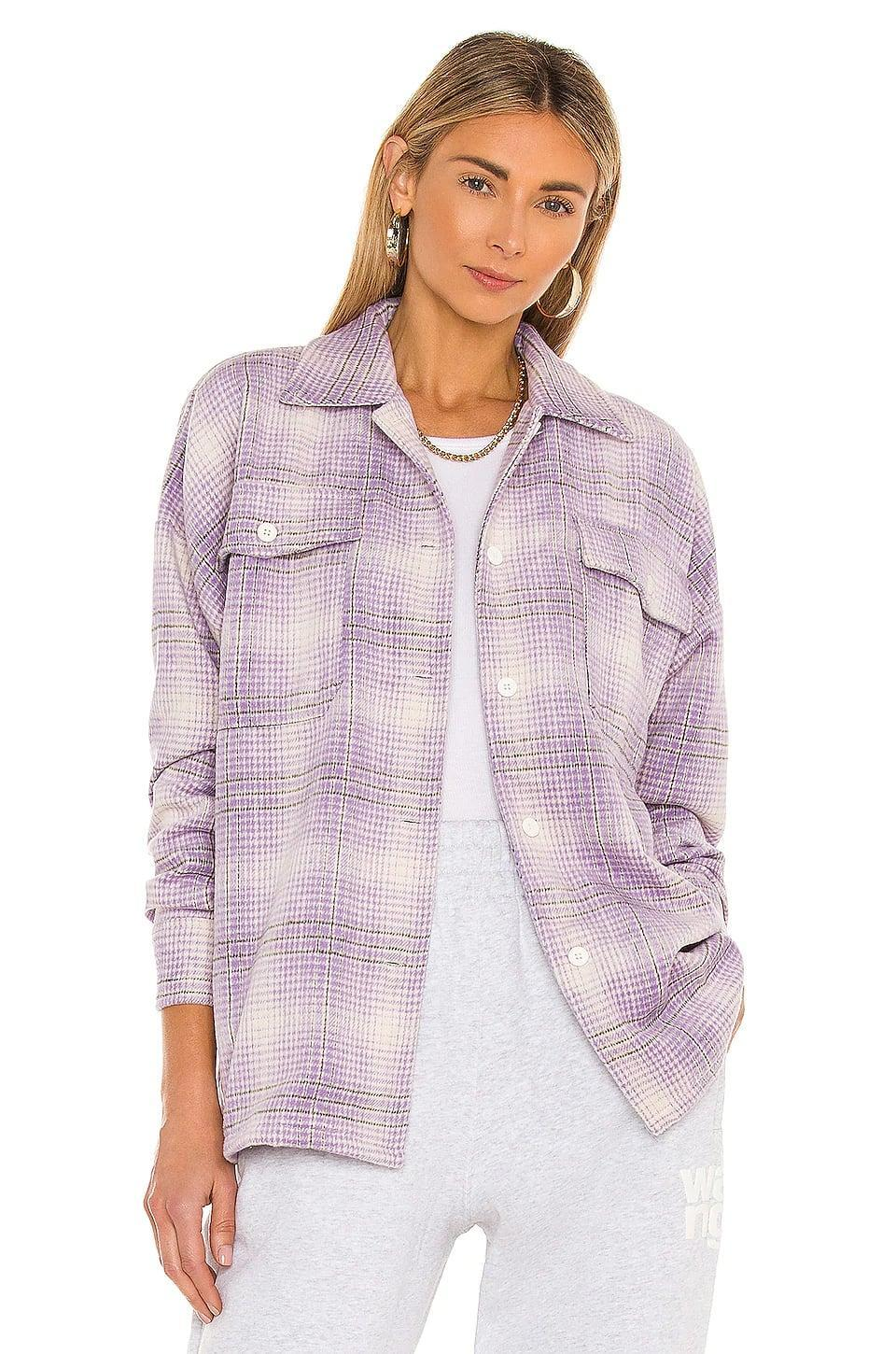 <p>When it gets chilly at night, throw on this adorable <span>Lovers &amp; Friends Emmy Shacket</span> ($118).</p>