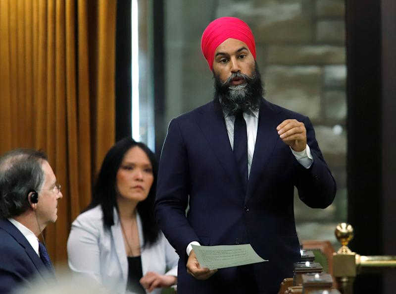 Even Jagmeet Singh, a party leader, must contend with white fragility. (Photo: Patrick Doyle / Reuters)