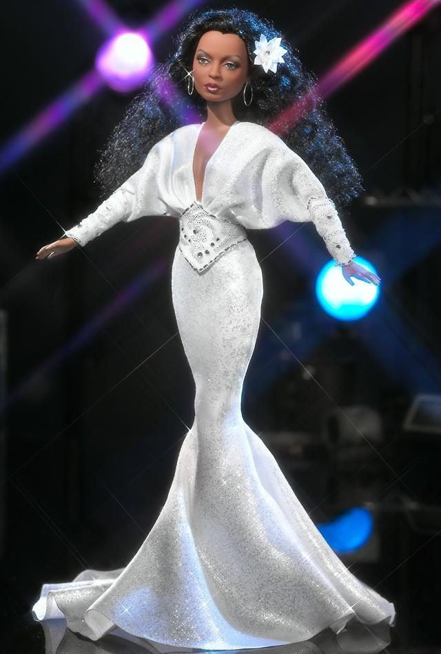 "<div class=""caption-credit""> Photo by: barbiecollector.com</div><b>Diana Ross doll, released in 2003 for $34.95</b> <br> Love it, love it, love it! Awesome job on the hair, and those dolman sleeves are just right."