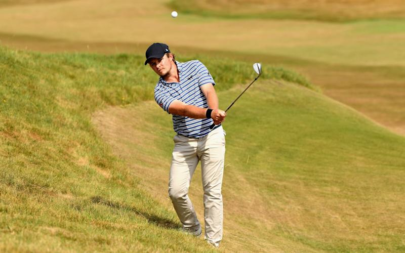 Abingdon'sEddie Pepperell will be teeing off at Carnoustie instead of helping Radio 5 Live with its coverage - Getty Images Europe