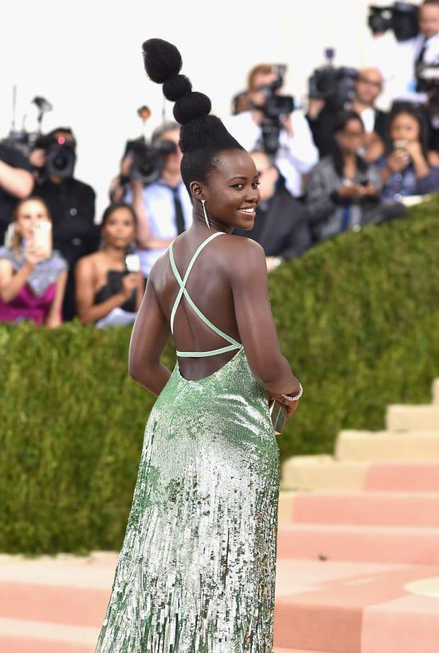 Lupita Nyong'o at the 2016 Met Gala.