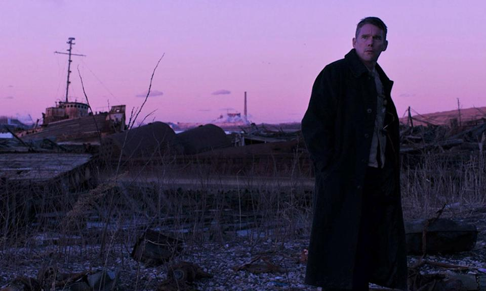 <p>Ethan Hawke stars as a priest of a small congregation in upstate New York who grapples with mounting despair when one of his parishioners comes to him with concerns about her radical environmentalist husband. </p>