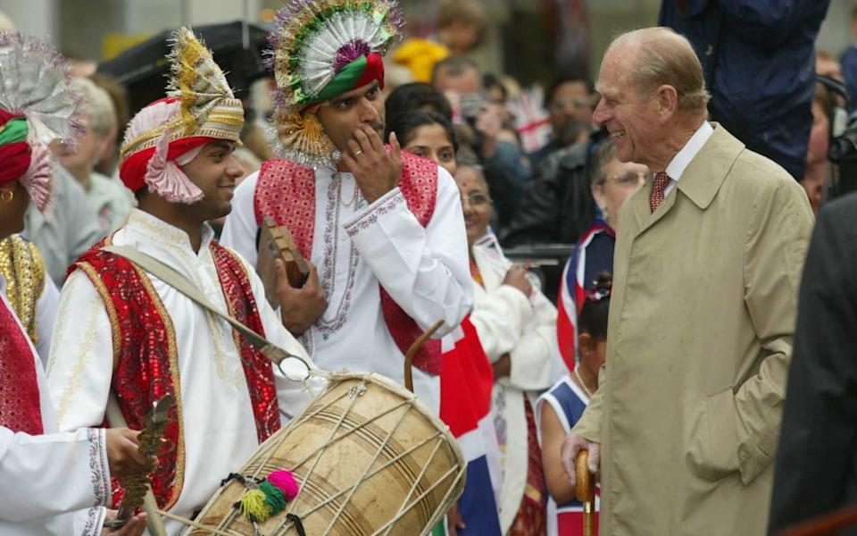 Prince Philip out and about in Leicester during the Queen's Jubilee tour - Ian Jones