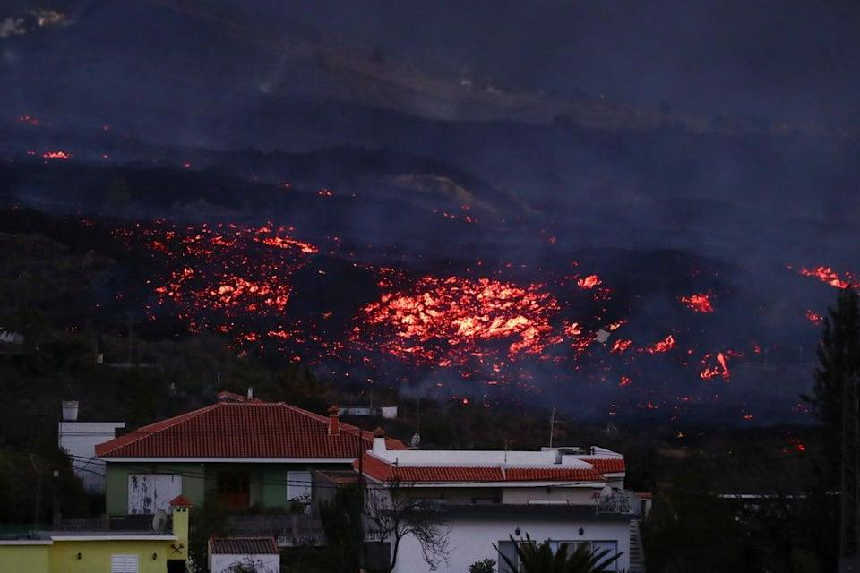 More than 6,000 people have had to abandon their homes since the volcano began erupting (REUTERS)