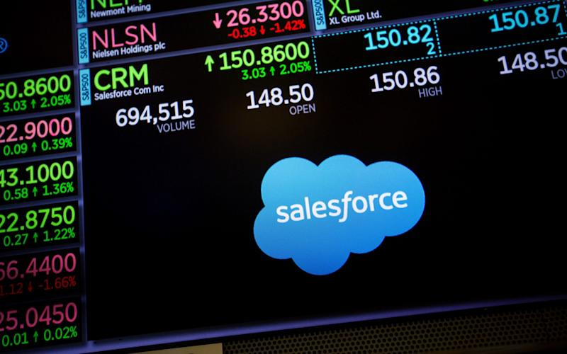 Salesforce will launch a $125m fund - Bloomberg