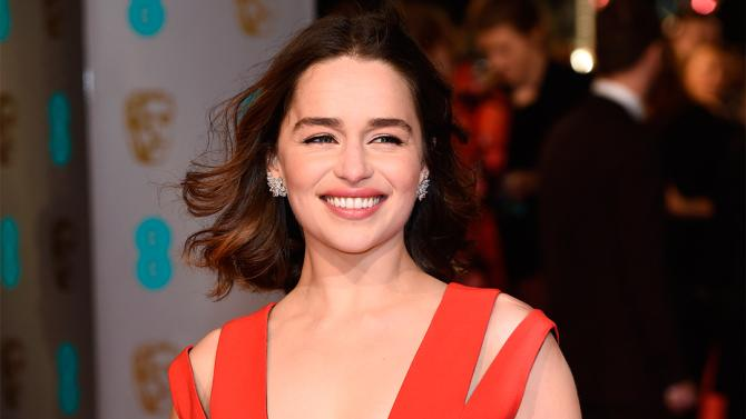 Emilia Clarke (Photo: David Fisher/REX/Shutterstock)