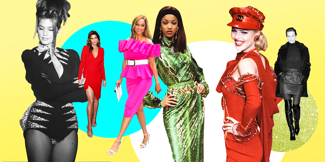 <p>Supermodels in the '90s made modeling into the glitzy, glam, celebrity Thing it is today, and many of the iconic muses are still slaying the runway. Check out these stunning photos of Naomi Campbell, Kate Moss, Tyra Banks, Cindy Crawford, and more, slaying back then and right TF now. </p>