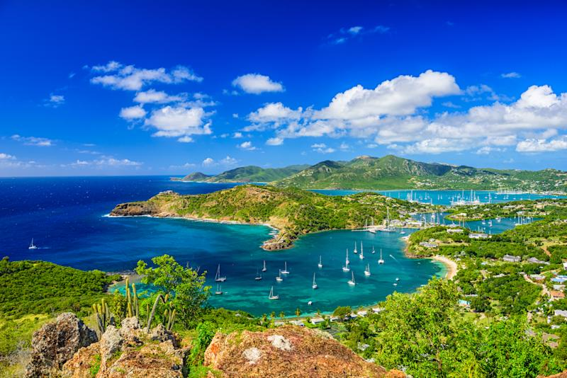 Shirley Heights, Antigua. Image via Getty Images.