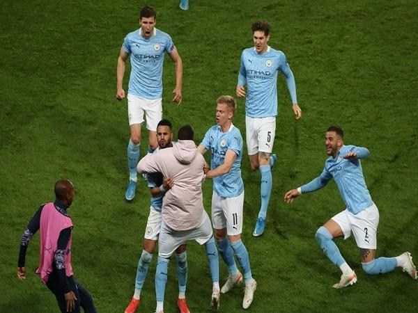 Manchester City beat PSG 2-1 on Wednesday (Image: UEFA Champions League's Twitter)