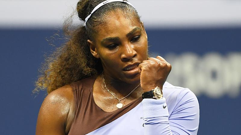 Serena Williams' outburst costs her at U.S. Open
