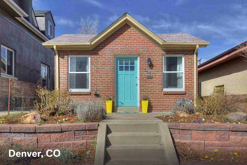 Home for sale in Denver CO with a $1500 estimated mortgage payment