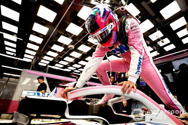 "Sergio Perez, Racing Point <span class=""copyright"">Glenn Dunbar / Motorsport Images</span>"