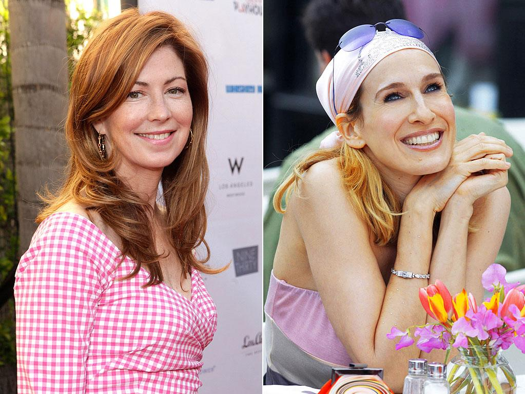 """Dana Delany as Carrie Bradshaw<br>(""""<a target=""""_blank"""" href=""""http://tv.yahoo.com/sex-and-the-city/show/205"""">Sex and the City</a>"""")<br><br>Sarah Jessica Parker will forever be linked to playing her swinging-single character, sex columnist Carrie Bradshaw, for six seasons on """"Sex and the City."""" But if series creator Darren Star had gotten his first choice for the role, Dana Delany, his friend and now """"Body of Proof"""" star would have played the romantically challenged Carrie. So why didn't Delany take the role? """"I had just played Mistress Lisa [in the film 'Exit to Eden'] and people reacted badly to it,"""" Delany, who's now 55, nine years older than Parker, said in a 2008 interview. """"I had been America's sweetheart and [the public] just didn't want to see me in that role. So I said, 'Darren, I just can't talk about sex one more time.' So Sarah Jessica Parker made it her own."""""""