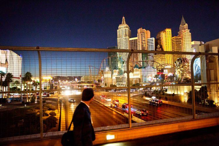 The Las Vegas Strip. (Photo: David Goldman/AP)