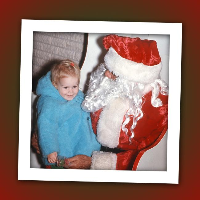 This little girl took a detour to Melrose Place before landing on ABC Family's hottest teen drama. Do you know who that is on Santa's lap?