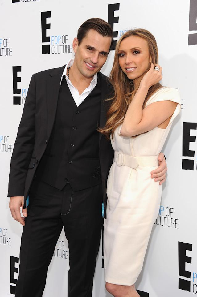 Bill Rancic and Giuliana Rancic attend E!'s 2012 Upfront event at Gotham Hall on April 30, 2012 in New York City.