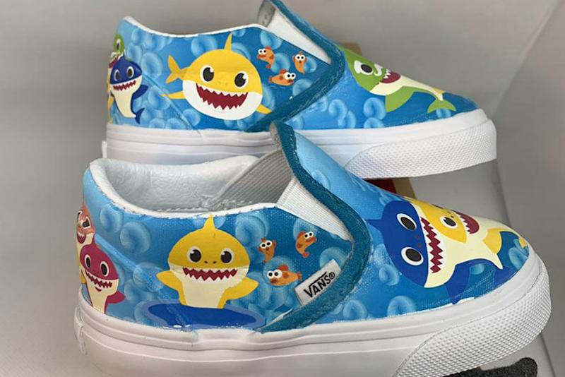 48d0234aed027 Toddlers Can Now Get the Most Adorable Custom 'Baby Shark' Vans Sneakers
