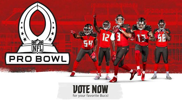 Vote Your Favorite Bucs into the Pro Bowl!