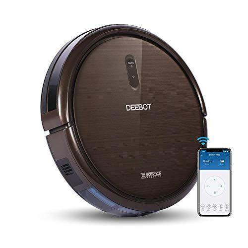 """<p><strong>ECOVACS</strong></p><p>amazon.com</p><p><strong>$199.99</strong></p><p><a href=""""https://www.amazon.com/dp/B077HW9XM7?tag=syn-yahoo-20&ascsubtag=%5Bartid%7C2139.g.35311665%5Bsrc%7Cyahoo-us"""" rel=""""nofollow noopener"""" target=""""_blank"""" data-ylk=""""slk:BUY IT HERE"""" class=""""link rapid-noclick-resp"""">BUY IT HERE</a></p><p>ECOVACS is another household name is the robotic vacuum space. This one comes complete with both Alexa and Google assistant voice commands, 110 minutes of run time and a plethora of features to clean up just about any mess. It brushes, sweeps, lifts and vacuums your floors on auto mode and can really focus on deep clean, focused treatments in spot mode to name a few.</p>"""