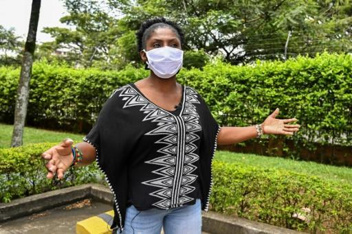 """Colombian environmental activist Francia Marquez says the fight is uneven considering�""""the weapons with which they kill us social leaders, but it's obvious that our voice is a threat"""""""