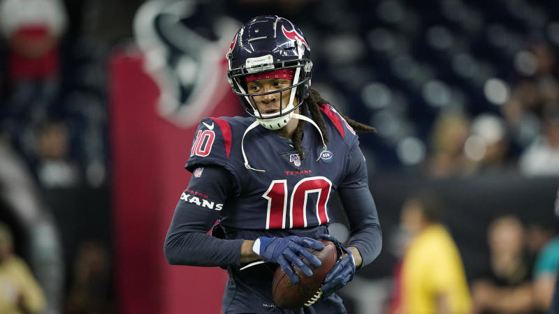 Cardinals wide receiver DeAndre Hopkins has made three straight All-Pro teams. (AP Photo/David J. Phillip)
