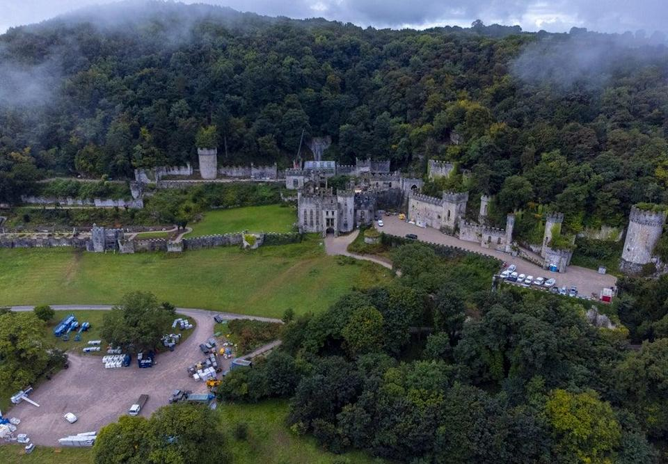 Gwrych Castle near Abergele in North Wales (Peter Byrne/PA) (PA Wire)