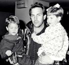 <p>Here, Kevin is pictured with son Joe and daughter Lily, his children with first wife Cindy Costner. Lily is 34 now and Joe is 33. It's crazy how time flies! </p>