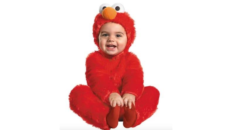 You can't go wrong with an adorable baby Elmo.