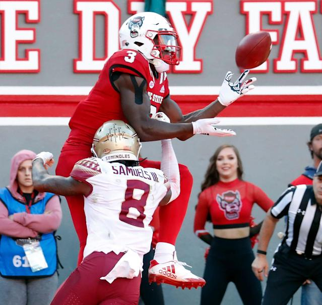 North Carolina State's Kelvin Harmon (AP Photo)