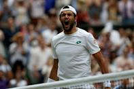 Matteo Berrettini appropriately for a keen student of history made some himself by becoming the first Italian to reach a Wimbledon singles final AFP Sport picks out three things about the 25-year-old ahead of his clash with Novak Djokovic