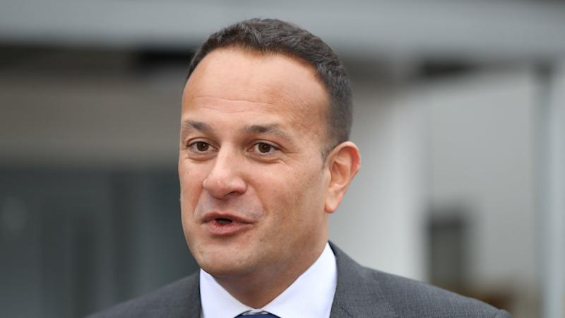 <p>Leo Varadkar is attending a service at the Arc de Triomphe.</p>