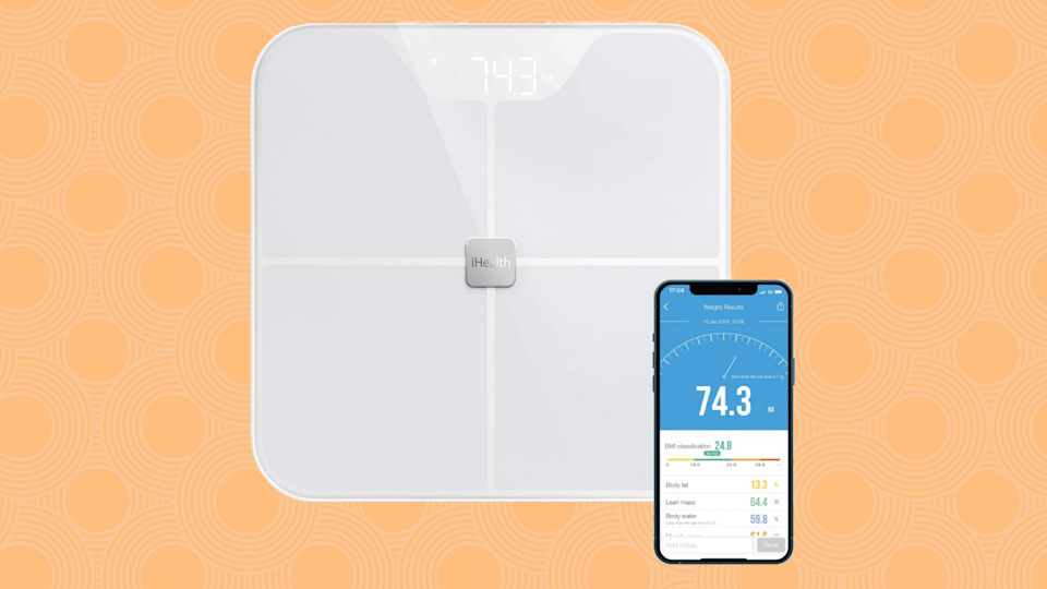 Save 50 percent on the iHealth Nexus Body Fat Smart Scale. (Photo: Amazon)