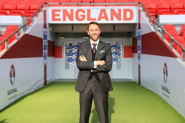 Gareth Southgate after being confirmed as England's manager