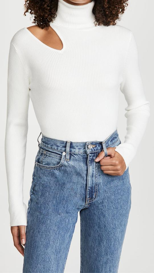 """<p>""""I have a ton of old sweaters and crewnecks stacked in my closet, but I'm definitely in the mood for something new. The <product href=""""https://www.shopbop.com/vivi-sweater-astr-label/vp/v=1/1566340495.htm?folderID=13317&amp;fm=other-shopbysize-viewall&amp;os=false&amp;colorId=12397&amp;ref_=SB_PLP_NB_66"""" target=""""_blank"""" class=""""ga-track"""" data-ga-category=""""internal click"""" data-ga-label=""""https://www.shopbop.com/vivi-sweater-astr-label/vp/v=1/1566340495.htm?folderID=13317&amp;fm=other-shopbysize-viewall&amp;os=false&amp;colorId=12397&amp;ref_=SB_PLP_NB_66"""" data-ga-action=""""body text link"""">ASTR the Label Vivi Sweater</product> ($78) is at the top of my wish list, but it's a classic staple with a fun cutout. What I love about it is you can even see the cool design on a Zoom call."""" - Krista Jones, associate editor, Shop</p>"""