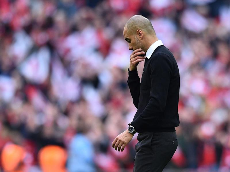City looked disjointed an unconnected without Silva in the side (Getty)