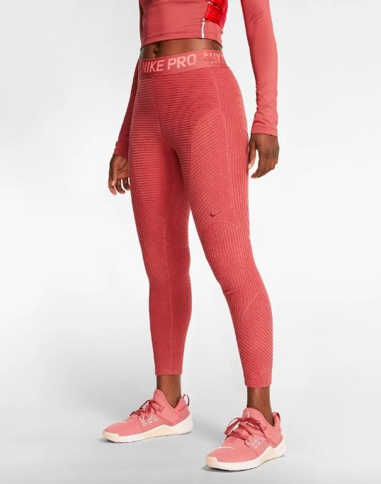 """<p>If you plan on running outside in the dead of Winter, thin calf-length leggings just aren't going to cut it. The <a href=""""https://www.popsugar.com/buy/Nike-Pro-HyperWarm-Velour-Tights-535710?p_name=Nike%20Pro%20HyperWarm%20Velour%20Tights&retailer=nike.com&pid=535710&price=75&evar1=fit%3Aus&evar9=47052611&evar98=https%3A%2F%2Fwww.popsugar.com%2Ffitness%2Fphoto-gallery%2F47052611%2Fimage%2F47052619%2FNike-Pro-HyperWarm-Velour-Tights&list1=running%2Chalf%20marathon&prop13=api&pdata=1"""" rel=""""nofollow"""" data-shoppable-link=""""1"""" target=""""_blank"""" class=""""ga-track"""" data-ga-category=""""Related"""" data-ga-label=""""https://www.nike.com/t/pro-hyperwarm-womens-velour-tights-6zlxHW/BV5562-661"""" data-ga-action=""""In-Line Links"""">Nike Pro HyperWarm Velour Tights</a> ($75) are crafted with a sweat-wicking velour fabric and ventilation in high-heat areas, so you stay warm (but not too warm) and dry during long jogs.</p>"""
