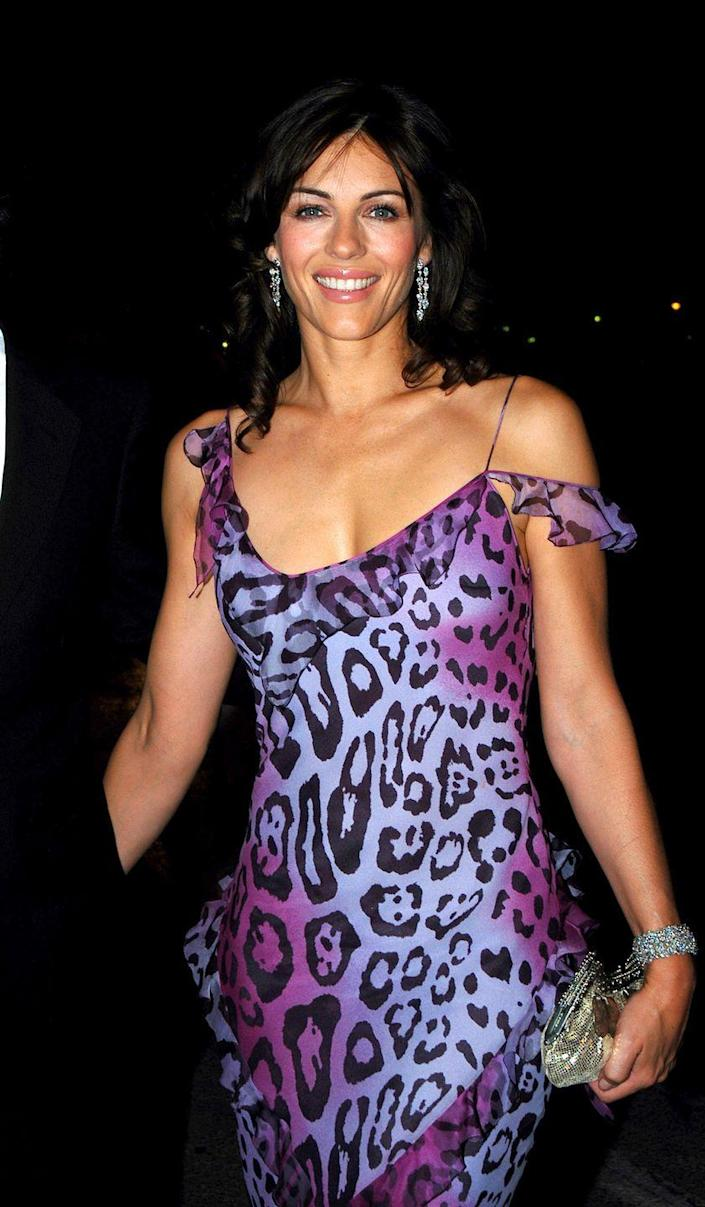 <p>Elizabeth starred and executive produced the thriller movie <em>Method </em>in 2004—but this photo is proof that work isn't aging her one bit.</p>
