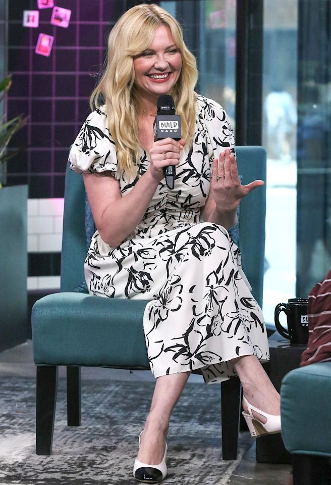 Kirsten Dunst pops by Build Series to discuss <em>On Becoming a God in Central Florida</em> at Build Studio in N.Y.C. on Thursday.