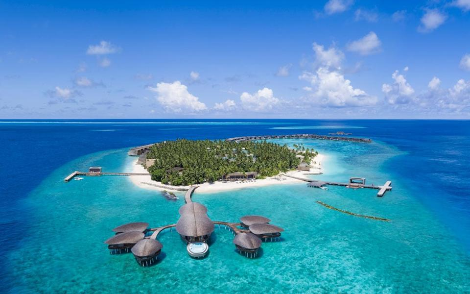 Many of the Maldives' far-flung tropical island resorts offers a daringly designed environment