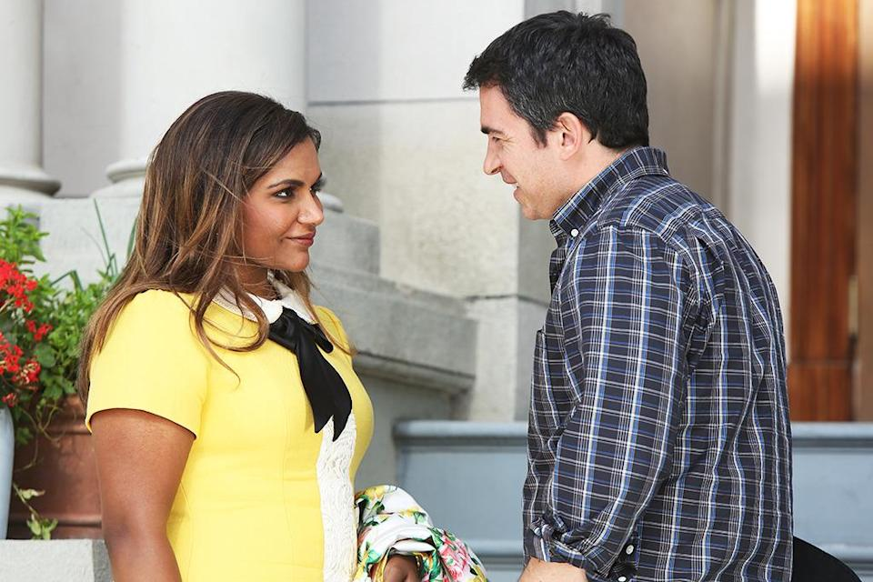 """<p><b>This Season's Theme: </b> Mindy will make """"the biggest decision ever, between Danny, the father of her son, and Jody, a man who just happens to have bought her an apartment,"""" star/creator Mindy Kaling says. """"Later in the season, Mindy will bristle as the staff takes her hostility towards a new female doctor for misogyny. And as usual we'll focus on our favorite themes: fashion, romance, and the ancient struggle between woman and food stains."""" <br><br><b>Where We Left Off: </b> Mindy hooked up with ex/baby daddy Danny (Chris Messina) when they were stuck in an elevator together. She returned home to find that Jody (Garret Dillahunt) had bought the upstairs apartment as a romantic gesture. <br><br><b>Coming Up: </b> A battle is brewing within Shulman & Associates. """"The nurses finally realize how badly they've been treated and go on strike, suddenly the doctors have to do their own nurse work and realize how good they used to have it,"""" Kaling says. And get ready for the comedy to push into new frontiers. """"We're doing another genre-bending fantasy episode, which you'll have to wait to hear more about. But ignore the rumors, it's not our take on <i>Avatar.</i> Hulu balked at the episode's $200 million dollar price tag."""" <br><br><b>Sex Change: </b> In August Kaling told reporters that she pitched an episode where her character wakes up as a white man. So, is this actually going to happen? """"It depends, we need to find a white man who can convincingly say 'Exqueeze me' and eat sour straws lying on the floor,"""" the star jokes. """"We're doing a nationwide casting search of America's gay bars and brunch spots."""" <i>– KW</i> <br><br>(Credit: Jordin Althhaus/Hulu)</p>"""