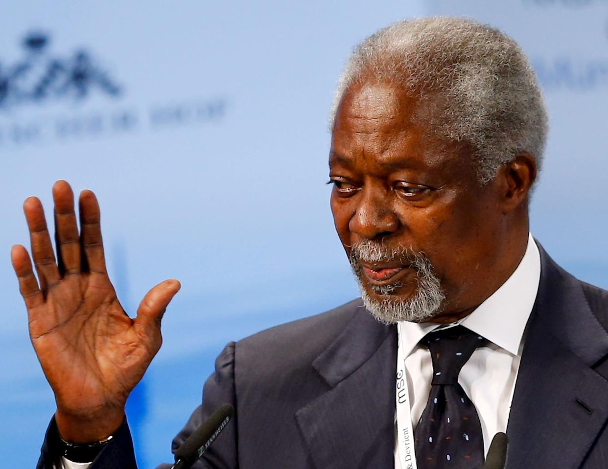 Kofi Annan, a Ghanaian diplomat and former United Nations secretary-general, died at the age of 80 on August 18, 2018.
