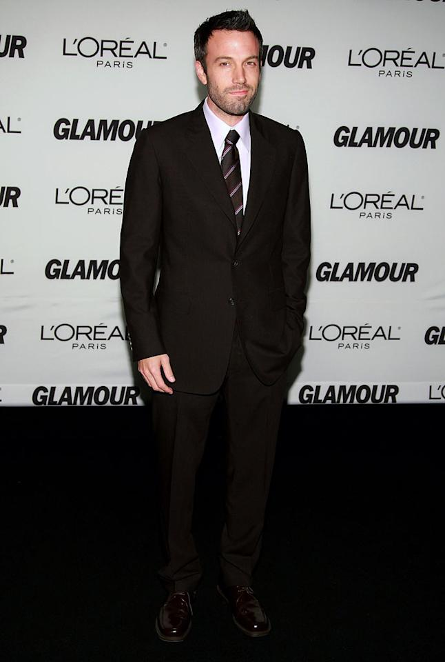 Ben Affleck attends The Glamour Magazine 2007 Women of The Year Awards at the Lincoln Center - 11/05/2007