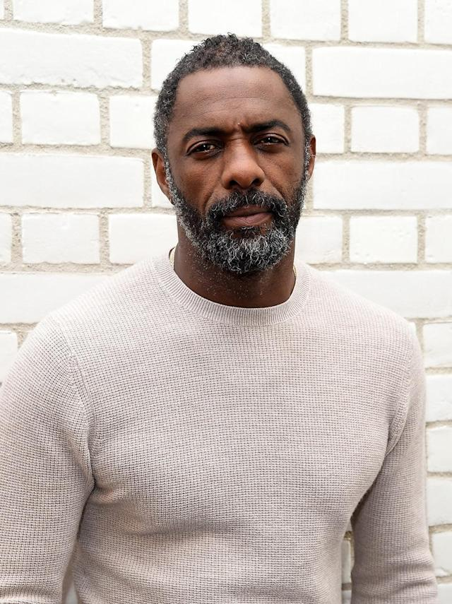 <p>Whoever said gray hair isn't sexy — if there is such a person — hasn't set eyes on Idris Elba. The <em>Luther</em> star (and future James Bond?), 44, let his chin fur go and the rest is slowly catching up. The divorcé got some time until he's all gray, but we'll enjoy watching the progression. (Photo: David M Benett/Dave Benett/Getty Images for Britvic) </p>