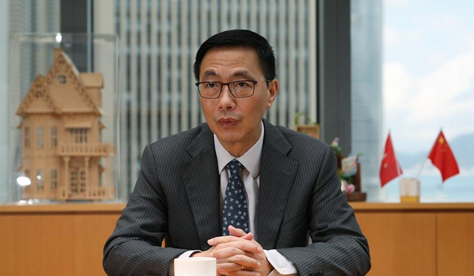 Secretary for Education Kevin Yeung has dismissed concerns about the withdrawals. Photo: Xiaomei Chen