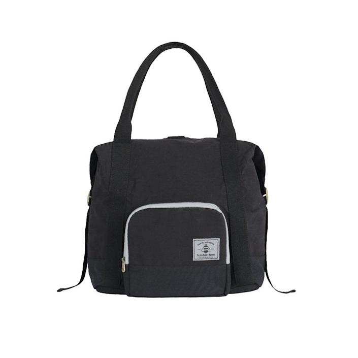 <p>The <span>Humble-Bee All Heart Convertible Diaper Bag </span> ($70) is light-weight, machine-washable, and has multifunctional organization.</p>